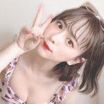平松可奈子の水着おっぱい画像