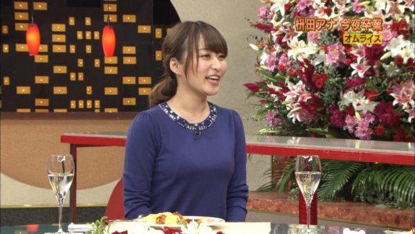枡田絵理奈アナの着衣エロ画像