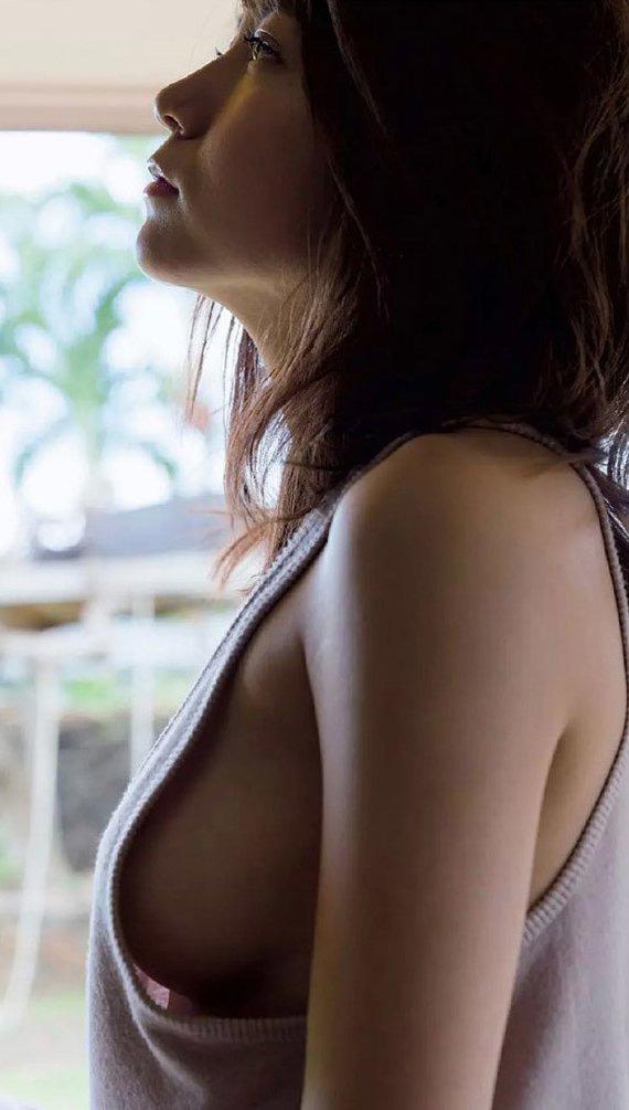 大場美奈の水着おっぱい画像